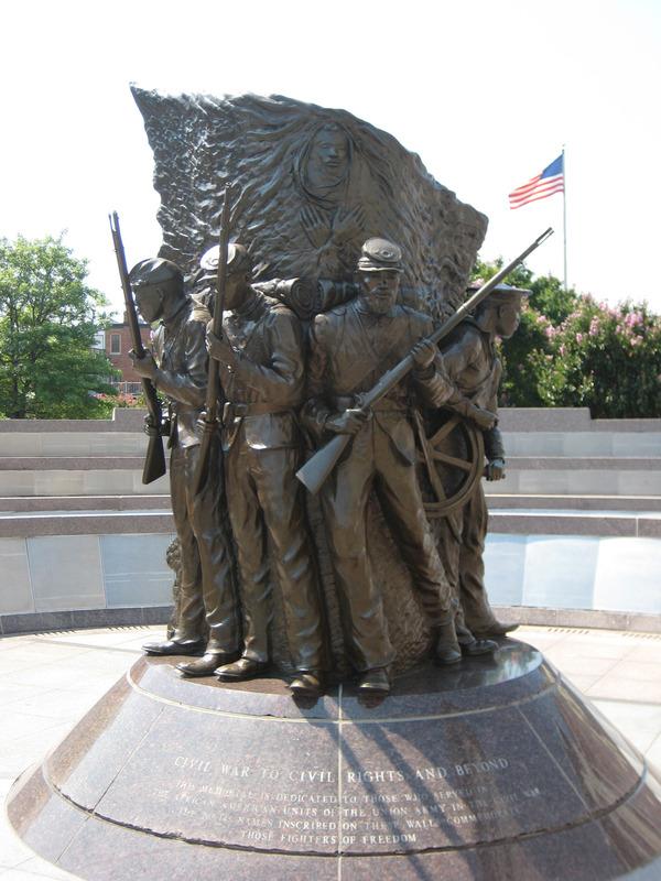 African American Civil War Memorial (The Spirit of Freedom ...  Statues
